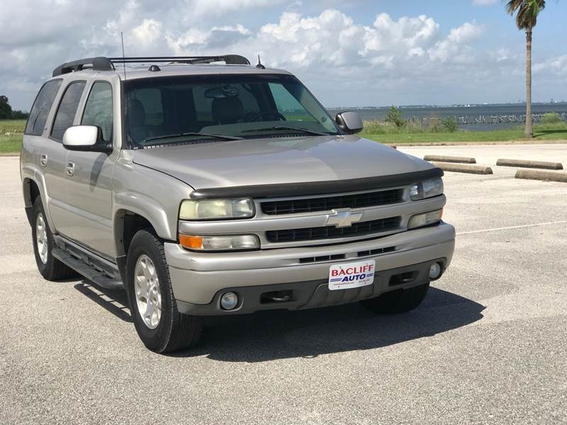 2005 Chevrolet Tahoe For Sale At Bacliff Auto In Bacliff TX