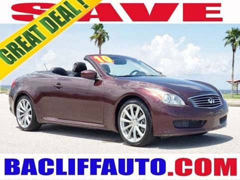 2010 Infiniti G37 Convertible for sale in Bacliff, TX