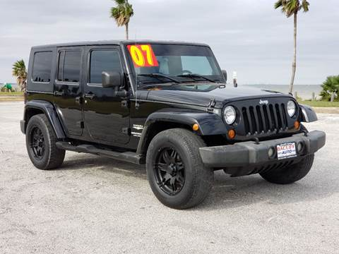 2007 Jeep Wrangler Unlimited for sale in Bacliff, TX