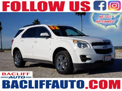 2012 Chevrolet Equinox for sale at Bacliff Auto in Bacliff TX