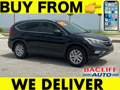 2015 Honda CR-V for sale at Bacliff Auto in Bacliff TX