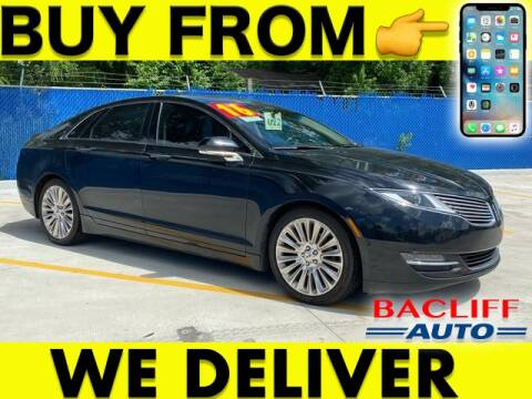 2016 Lincoln MKZ for sale at Bacliff Auto in Bacliff TX