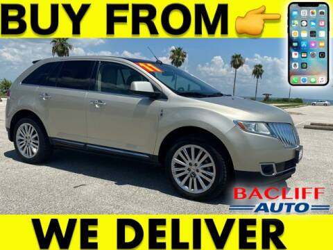 2011 Lincoln MKX for sale at Bacliff Auto in Bacliff TX