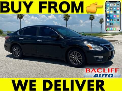 2015 Nissan Altima for sale at Bacliff Auto in Bacliff TX