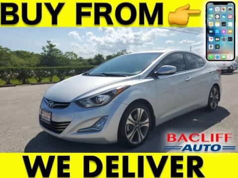 2015 Hyundai Elantra for sale at Bacliff Auto in Bacliff TX