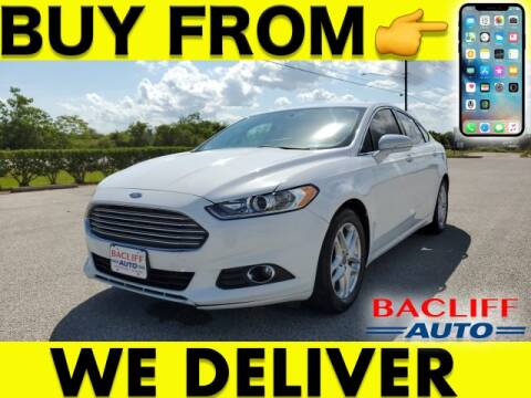 2014 Ford Fusion for sale at Bacliff Auto in Bacliff TX