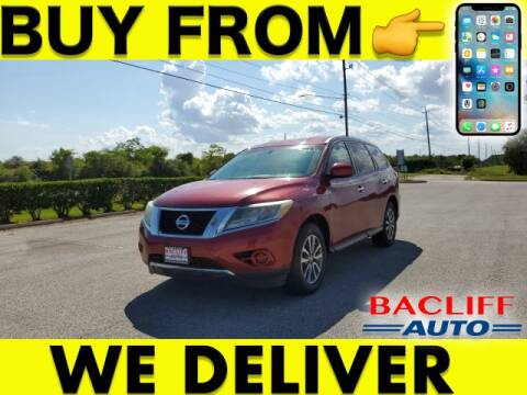 2013 Nissan Pathfinder for sale at Bacliff Auto in Bacliff TX