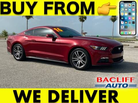 2016 Ford Mustang for sale at Bacliff Auto in Bacliff TX