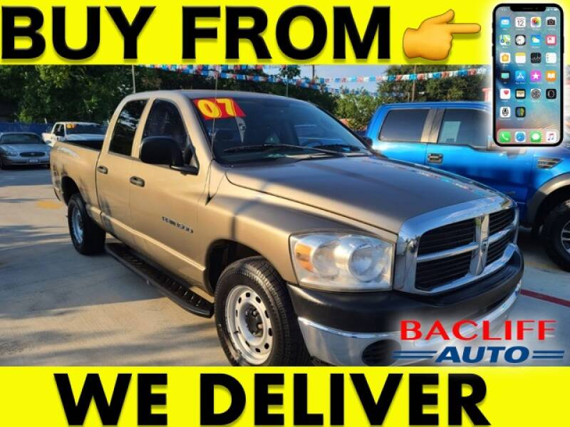 2007 Dodge Ram Pickup 1500 for sale at Bacliff Auto in Bacliff TX