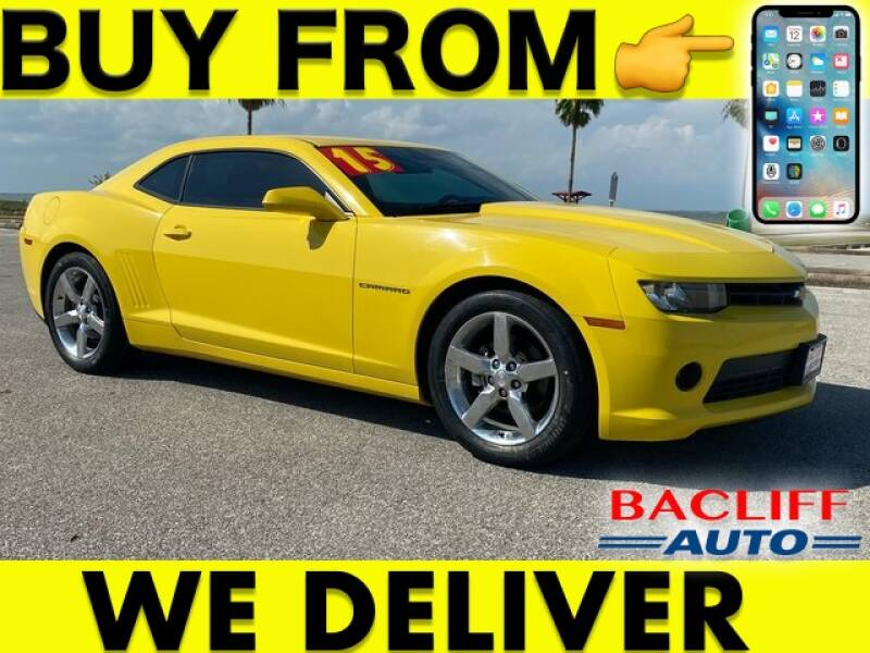 2015 Chevrolet Camaro for sale at Bacliff Auto in Bacliff TX