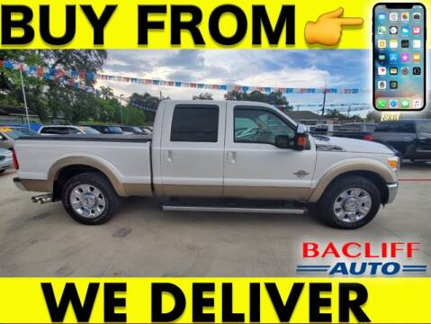 2011 Ford F-250 Super Duty for sale at Bacliff Auto in Bacliff TX