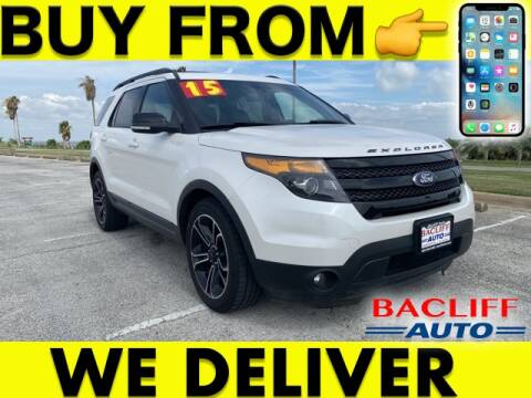 2015 Ford Explorer for sale at Bacliff Auto in Bacliff TX