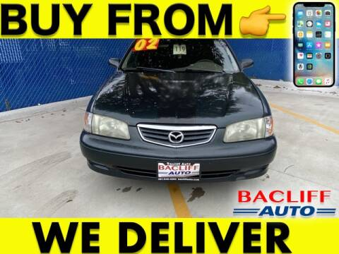 2002 Mazda 626 for sale at Bacliff Auto in Bacliff TX