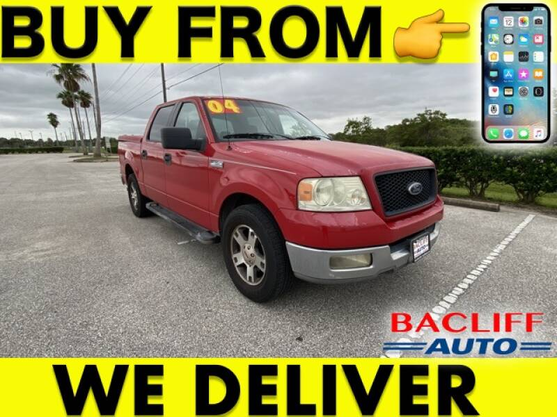 2004 Ford F-150 for sale at Bacliff Auto in Bacliff TX