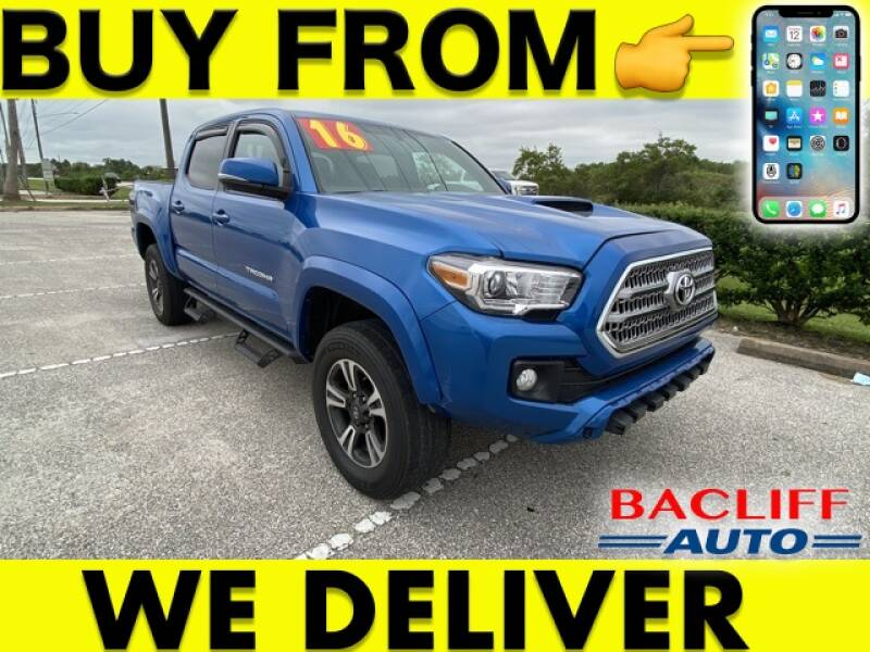 2016 Toyota Tacoma for sale at Bacliff Auto in Bacliff TX