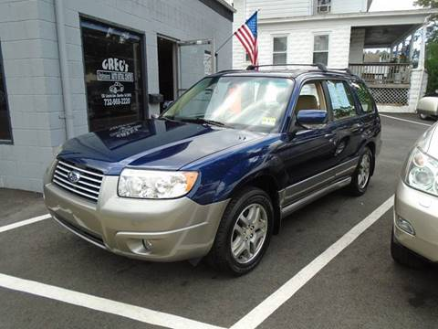2006 Subaru Forester for sale at Greg's Auto Sales in Dunellen NJ