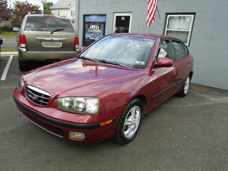 2003 Hyundai Elantra for sale at Greg's Auto Sales in Dunellen NJ