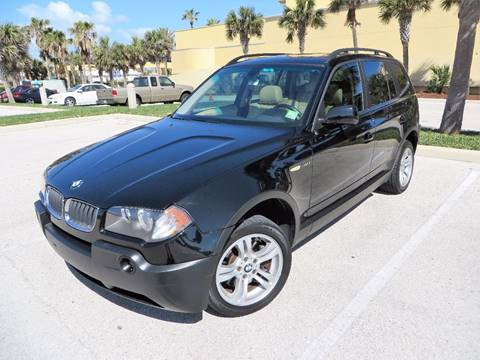 2005 BMW X3 for sale in Holly Hill, FL