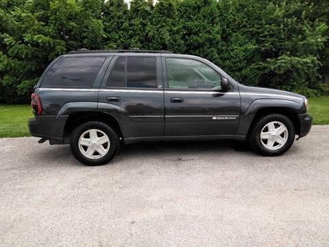 2003 Chevrolet TrailBlazer for sale at All American Auto Brokers - Daleville in Anderson IN