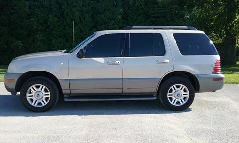 2005 Mercury Mountaineer for sale at All American Auto Brokers - Daleville in Anderson IN