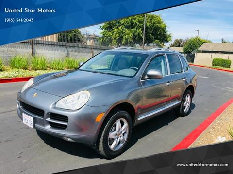 2005 Porsche Cayenne for sale in Sacramento, CA