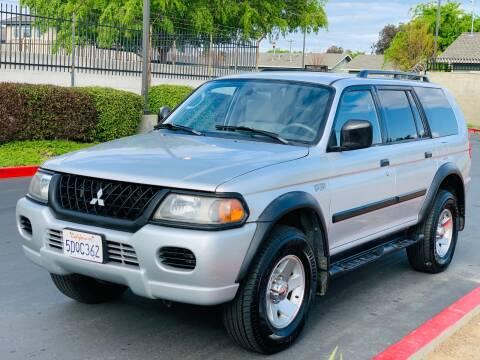 2002 Mitsubishi Montero Sport LS for sale at United Star Motors in Sacramento CA