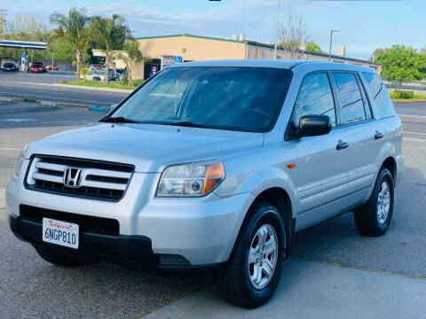 2007 Honda Pilot LX for sale at United Star Motors in Sacramento CA