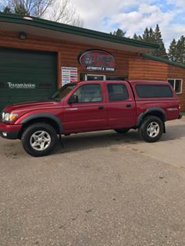 2004 Toyota Tacoma for sale at ELITE AUTOMOTIVE in Crandon WI