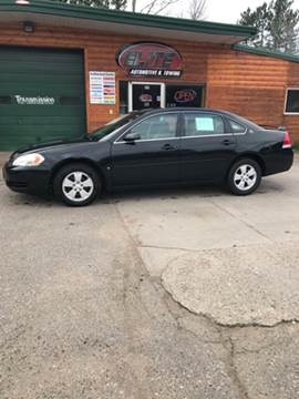 2008 Chevrolet Impala for sale at ELITE AUTOMOTIVE in Crandon WI