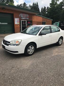 2004 Chevrolet Malibu for sale at ELITE AUTOMOTIVE in Crandon WI