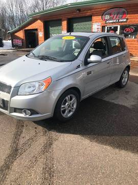 2010 Chevrolet Aveo for sale at ELITE AUTOMOTIVE in Crandon WI