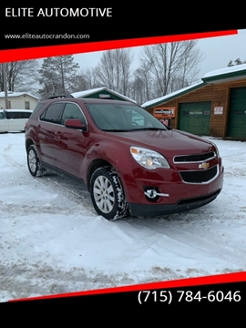 2010 Chevrolet Equinox for sale at ELITE AUTOMOTIVE in Crandon WI