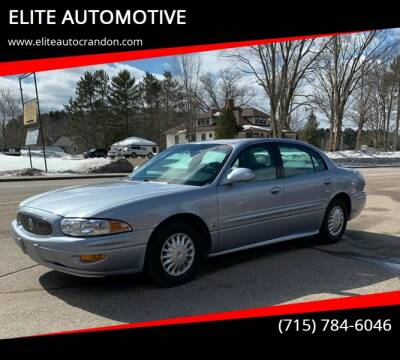 2004 Buick LeSabre for sale at ELITE AUTOMOTIVE in Crandon WI