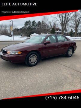 2001 Buick Century for sale at ELITE AUTOMOTIVE in Crandon WI