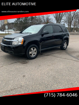 2009 Chevrolet Equinox for sale at ELITE AUTOMOTIVE in Crandon WI