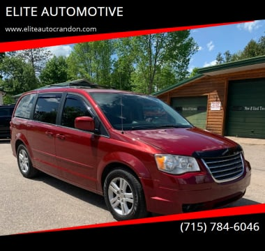 2011 Dodge Grand Caravan for sale at ELITE AUTOMOTIVE in Crandon WI