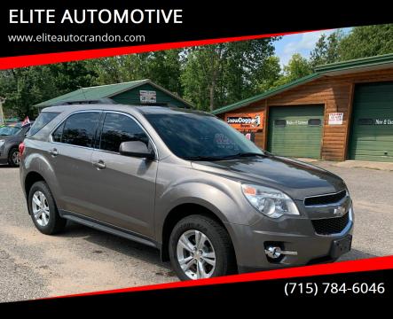 2011 Chevrolet Equinox for sale at ELITE AUTOMOTIVE in Crandon WI