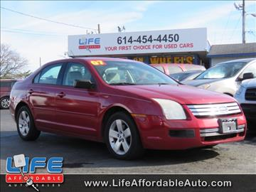 2007 Ford Fusion for sale at LIFE AFFORDABLE AUTO SALES in Columbus OH