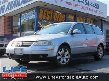 2005 Volkswagen Passat for sale at LIFE AFFORDABLE AUTO SALES in Columbus OH