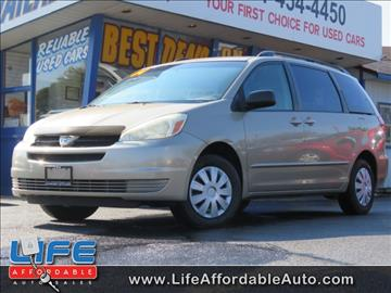 2004 Toyota Sienna for sale at LIFE AFFORDABLE AUTO SALES in Columbus OH