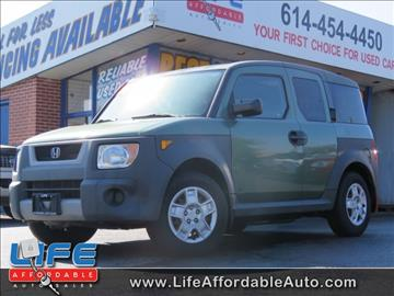 2005 Honda Element for sale at LIFE AFFORDABLE AUTO SALES in Columbus OH