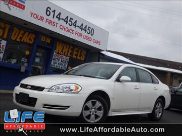 2009 Chevrolet Impala for sale at LIFE AFFORDABLE AUTO SALES in Columbus OH