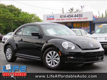2015 Volkswagen Beetle for sale at LIFE AFFORDABLE AUTO SALES in Columbus OH