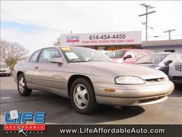 1998 Chevrolet Monte Carlo for sale at LIFE AFFORDABLE AUTO SALES in Columbus OH