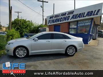 2015 Lincoln MKZ for sale at LIFE AFFORDABLE AUTO SALES in Columbus OH