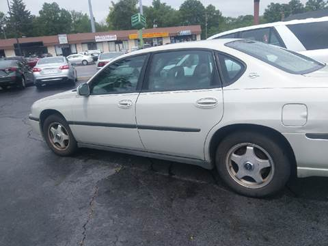 2003 Chevrolet Impala for sale at LIFE AFFORDABLE AUTO SALES in Columbus OH