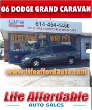 2006 Dodge Grand Caravan for sale at LIFE AFFORDABLE AUTO SALES in Columbus OH