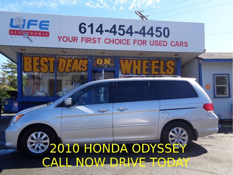 2010 Honda Odyssey for sale at LIFE AFFORDABLE AUTO SALES in Columbus OH