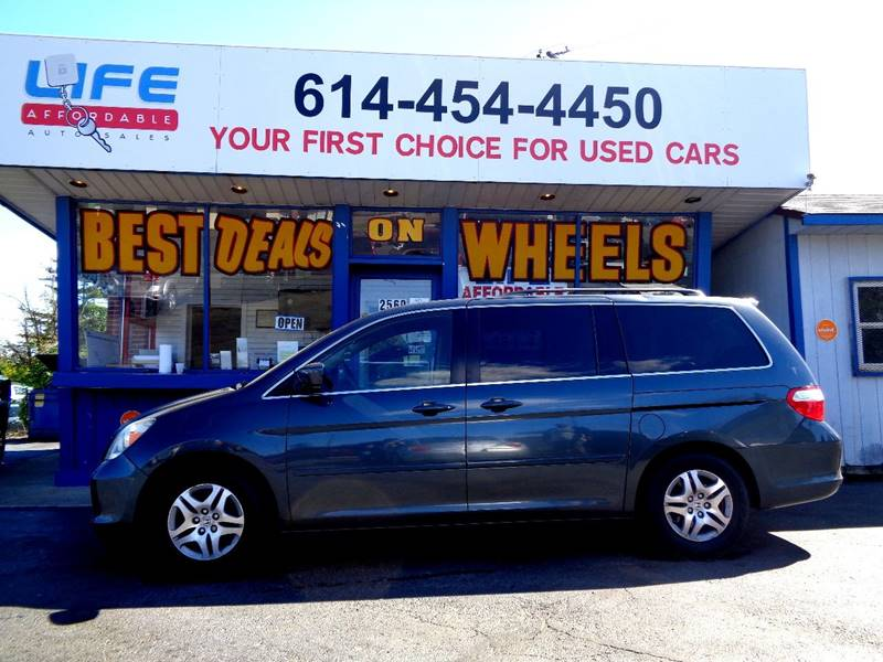 2006 Honda Odyssey for sale at LIFE AFFORDABLE AUTO SALES in Columbus OH