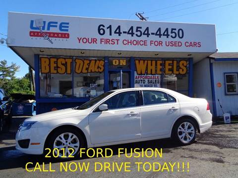 2012 Ford Fusion for sale at LIFE AFFORDABLE AUTO SALES in Columbus OH